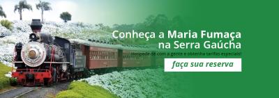 Maria Fumaça - Farroupilha - RS - Adoro Hotel