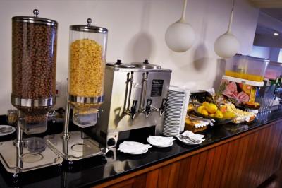 Café da manhã - 155 Hotel - Consolação - São Paulo - SP