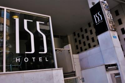 Frente - 155 Hotel - Consolação - São Paulo - SP