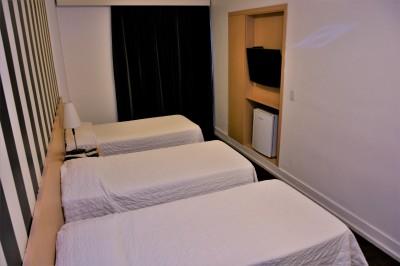 Apartamento Triplo - 155 Hotel - Consolação - São Paulo - SP