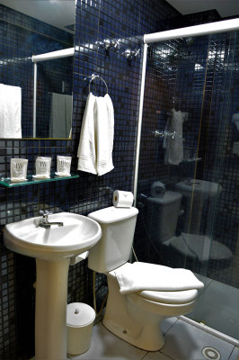 Banheiro - 155 Hotel - Consolação - São Paulo - SP