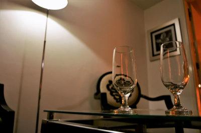 Mesa e cadeiras - 155 Hotel - Consolação - São Paulo - SP