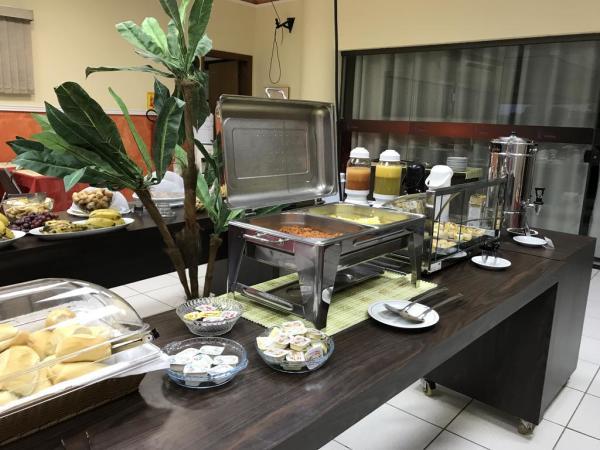 Hotel em Ji-Paraná - Café da manhã - Larison Hotéis