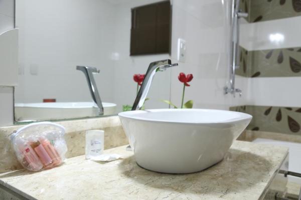 Hotel em Porto Velho - Banheiro - Larison Hotéis