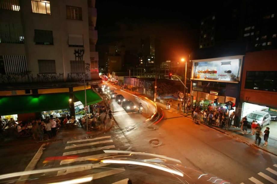 Rua Augusta - Capcana Hotel ao lado da Avenida Paulista em São Paulo - SP