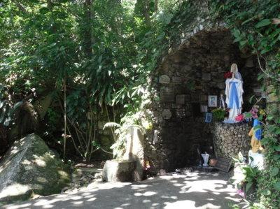 Gruta Nossa Sra de Lourdes - Urubici - Serra Bela Hospedaria Rural