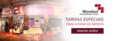 Hotel em Caxias do Sul - RS - City Hotel - Movelsul - Feira de Móveis