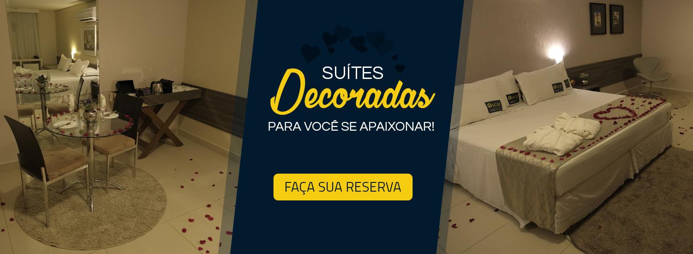 Suítes Decoradas - Romântico - Pacote - Hotel em Porto Velho - Oscar Executive