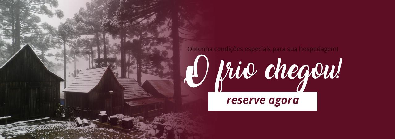 Frio - Inverno e Outono - Caxias do Sul - RS - Hotel em Caxias do Sul