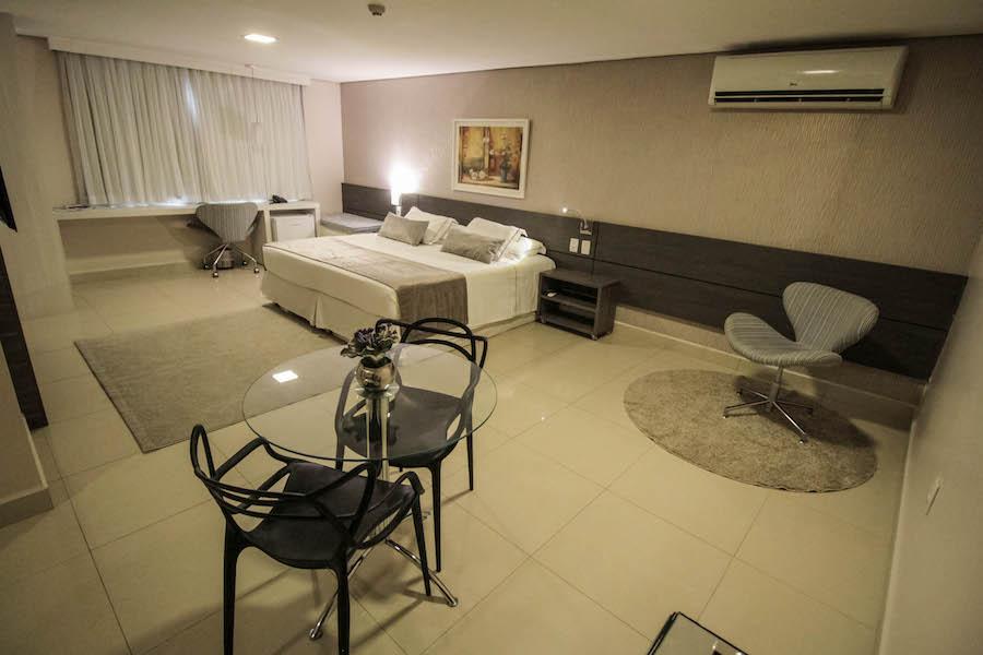 Suíte Luxo - Oscar Hotel Executive - Porto Velho