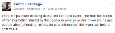 The Life Shift