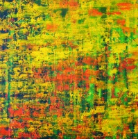 Heat Wave Passion oil on canvas painting by Sabrina Puppin