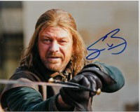 sean bean signed photo