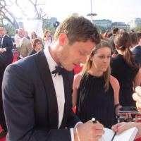 James Norton signing autographs