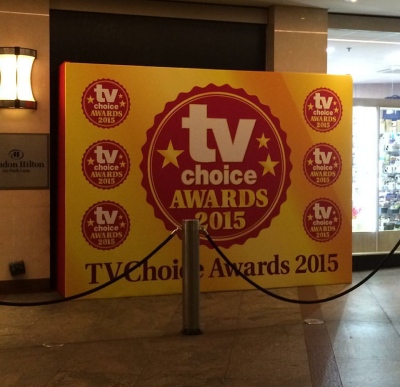 TV Choice awards london 2015