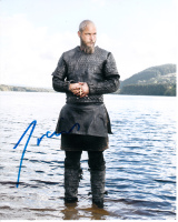 Travis Fimmel Vikings signed 10x8 photo