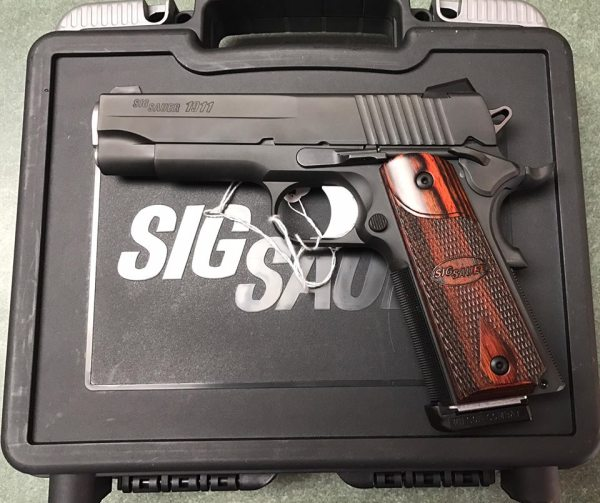 Sig Sauer Nitron Carry 1911  $775 cash, tax included
