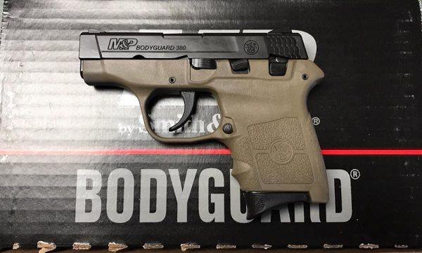 Smith & Wesson Bodyguard  FDE $258