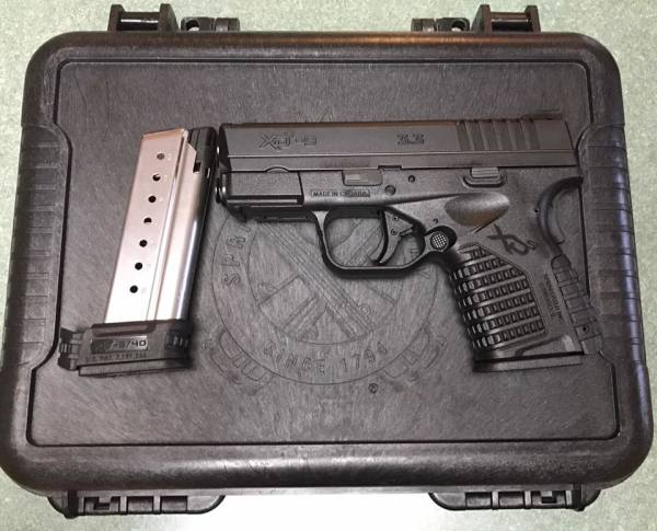 Springfield XDS9 Black  $410 cash, tax included.