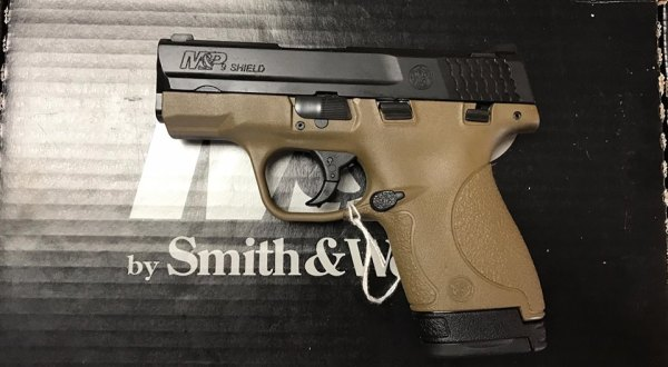 Smith & Wesson M&P Shield  $350 cash, tax included