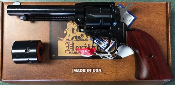 Heritage Revolver .22LR $170 cash, tax included