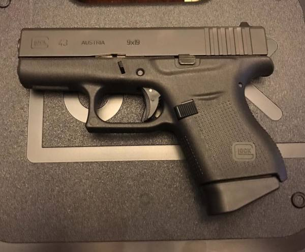Glock 43 Talo  $480 cash,tax included
