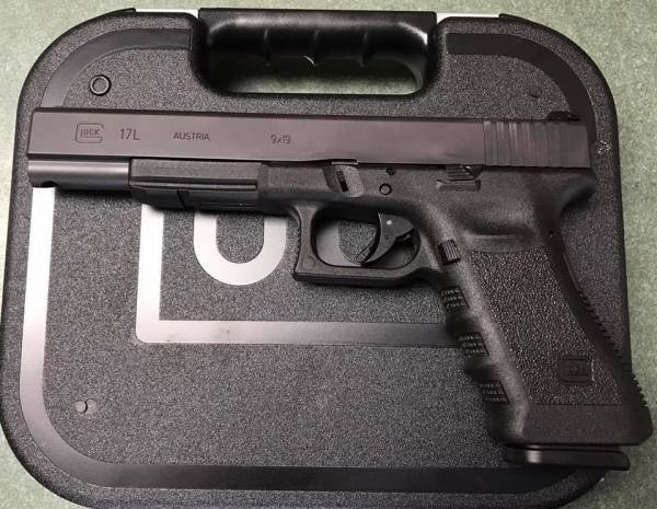 Glock 17L  $605 cash, tax included