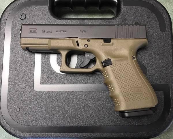 Glock 19 ODG  $545 cash, tax included