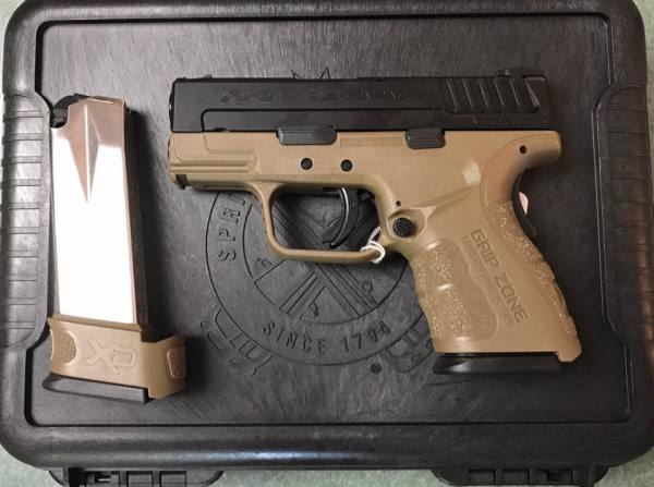 Springfield XD Mod2 Subcompact  $460 cash, tax included