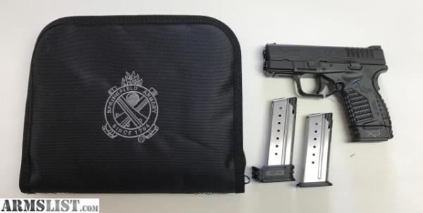 Springfield XDS9 with extras $385