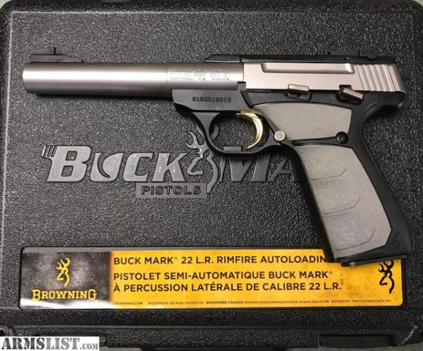 Browning Buckmark Stainless Camper $310