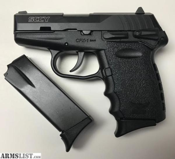 SCCY CPX-1 Black $216