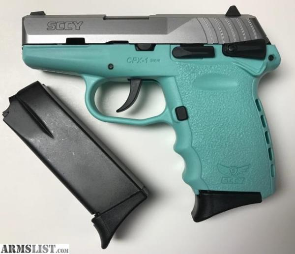 SCCY CPX-1 Tiffany Blue  $216