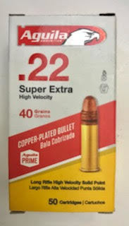 Aguila .22LR High Velocity 50 Rounds $4