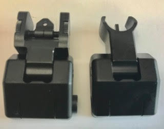PSA Rear and Front Flip up Sights $61