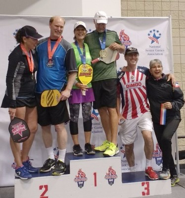 Mixed Doubles 50-54