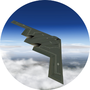 B-2b stealth bomber for iPhone