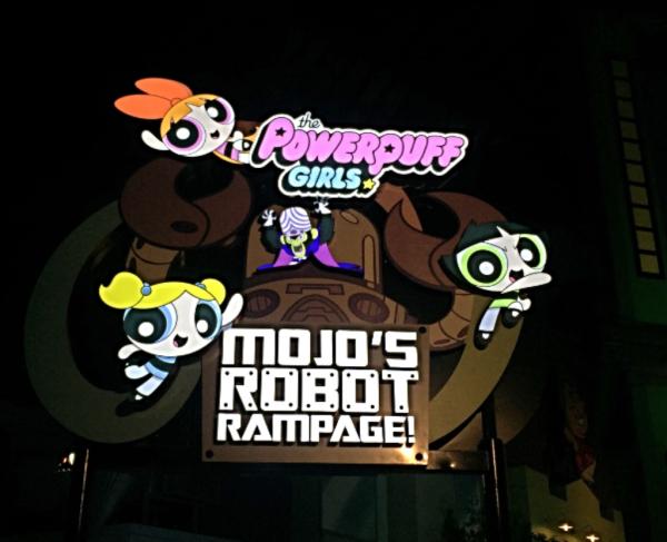 Powerpuff Girls. Mojo`s Robot Rampage