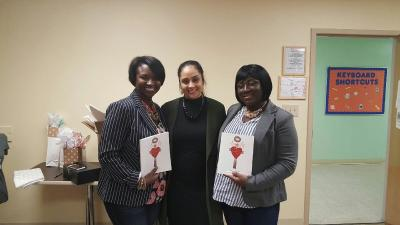 """So blessed to have met Jessica Jemmott, author of Simply Redeemed at the Worship Room Live Conference"" - Jennifer Brown"