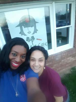 "Volunteering at ""Brass Hat Cafe"" (Westminster, MD)"