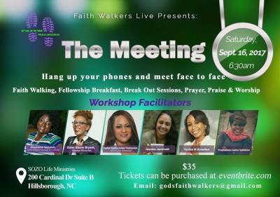 Faith Walker's Live Presents: The Meeting
