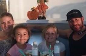 My daughter Toni, Ed, Bella and Sophia