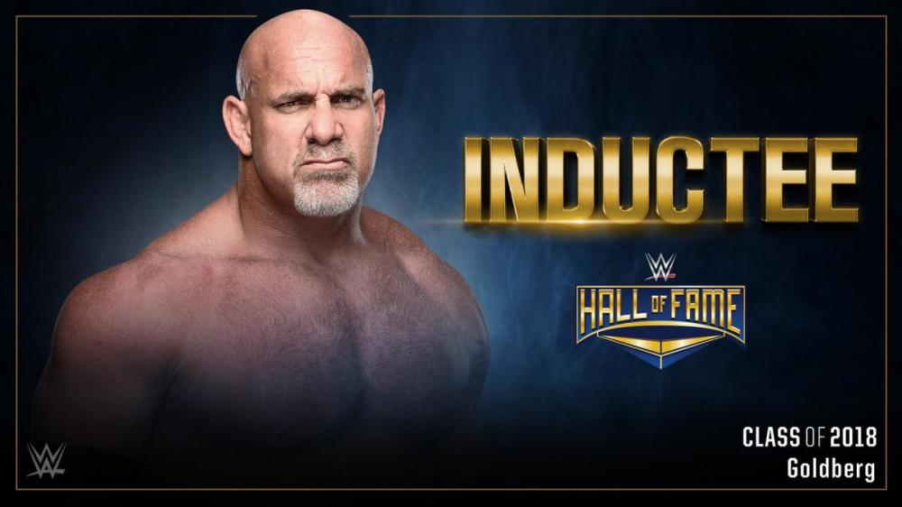 Goldberg To Be Inducted In The Hall Of Fame 2018
