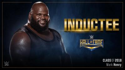 Mark Henry To Be Inducted In The Hall Of Fame