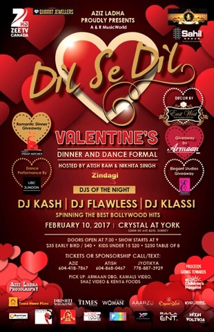 VALENTINES DINNER & DANCE SPECIAL!