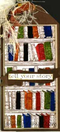 Bookshelf Card