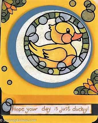 Rubber Duck Card