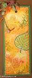 Fall Bookmark