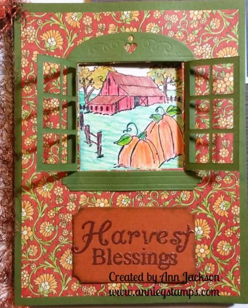Harvest Blessings Card