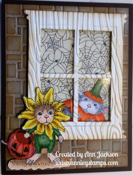 House Mouse Trick or Treat Card